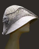 Льняные шляпки